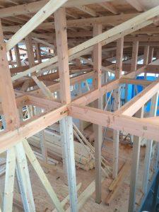 木造二階建て 建て方