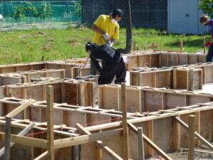 接骨院新築工事(木造平屋建て)