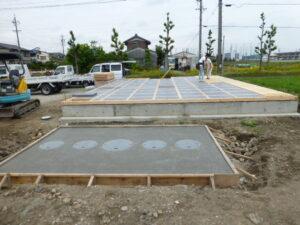 木造平屋建て新築工事(接骨院)