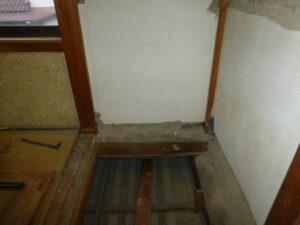 木造二階建て耐震改修工事