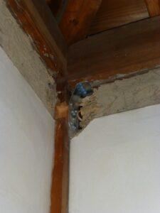 木造二階建て耐震改修工事(二階建て)