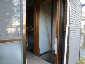 木造二階建て耐震改修工事(稲沢市)